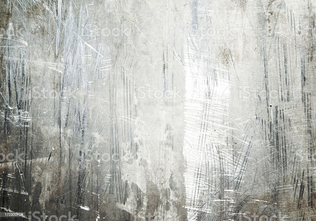 Grungy Metal Texture royalty-free stock photo