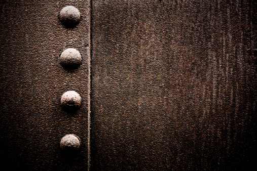 Grungy Metal XXXL Background with Rivets