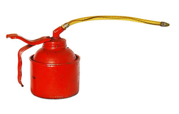 Grungy petróleo puede - foto de stock
