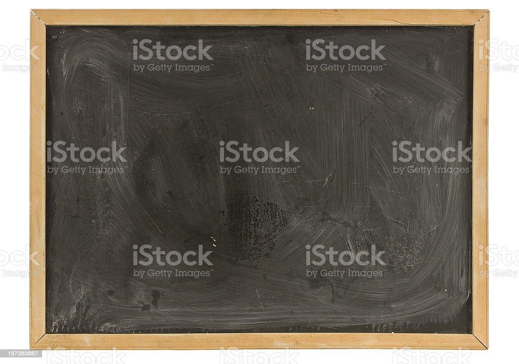 Grungy Old Blackboard royalty-free stock photo