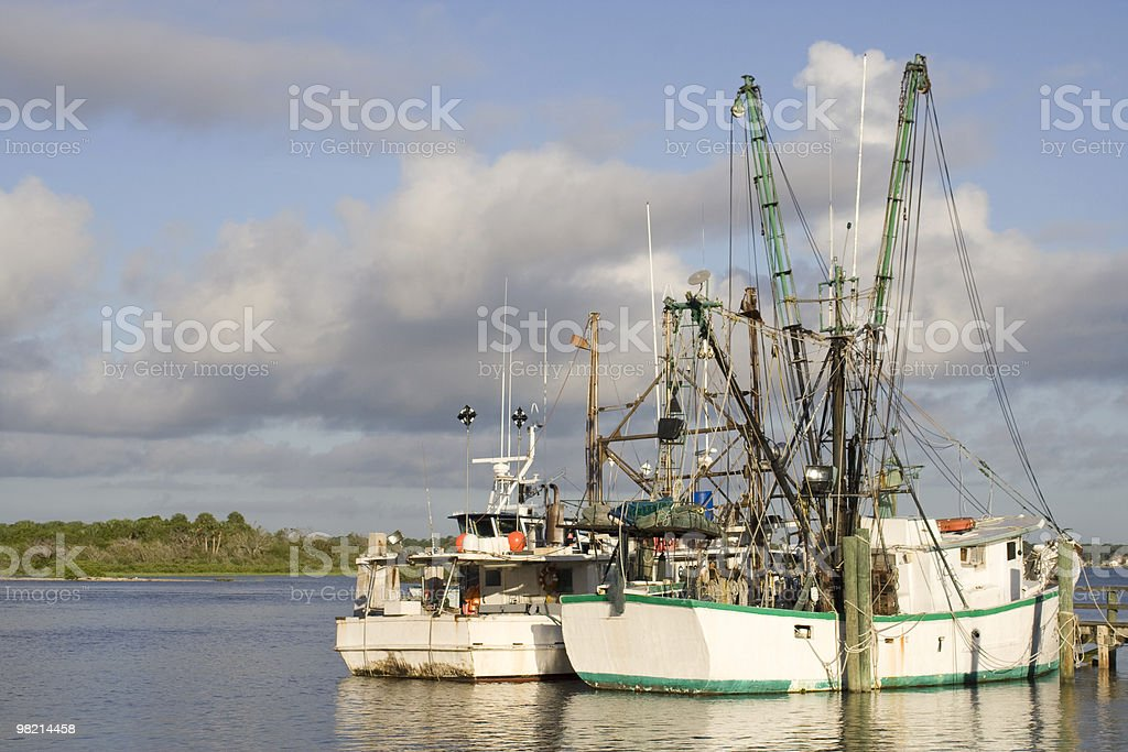 Grungy Old Boats royalty-free stock photo