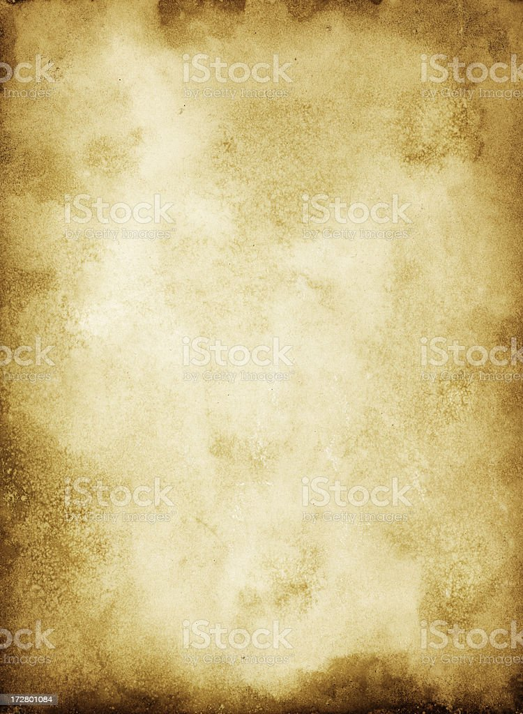 Grungy Old Paper Background royalty-free stock photo