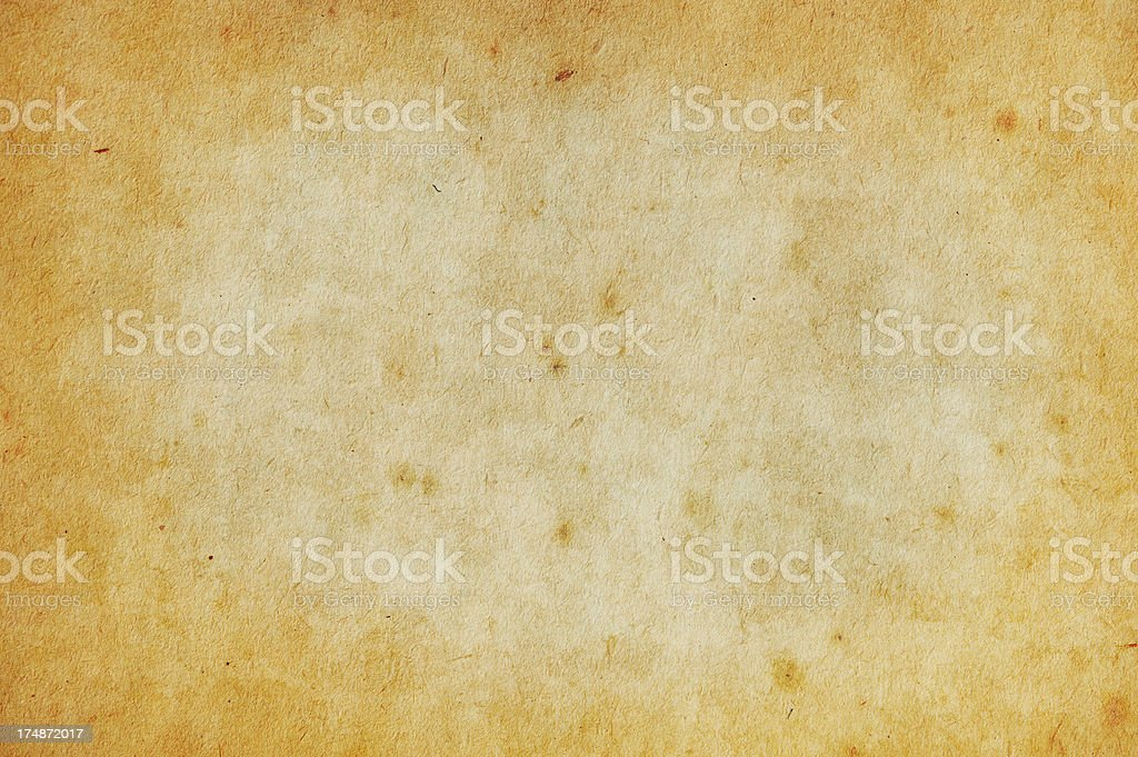 Grungy Old Paper Background.