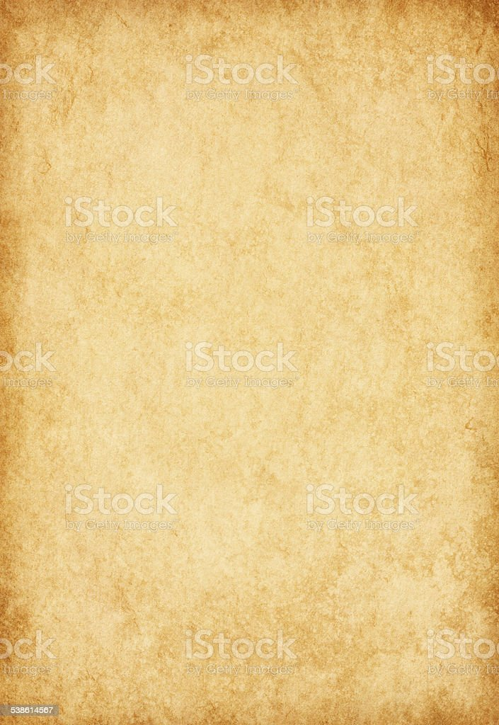 Grungy old paper. stock photo