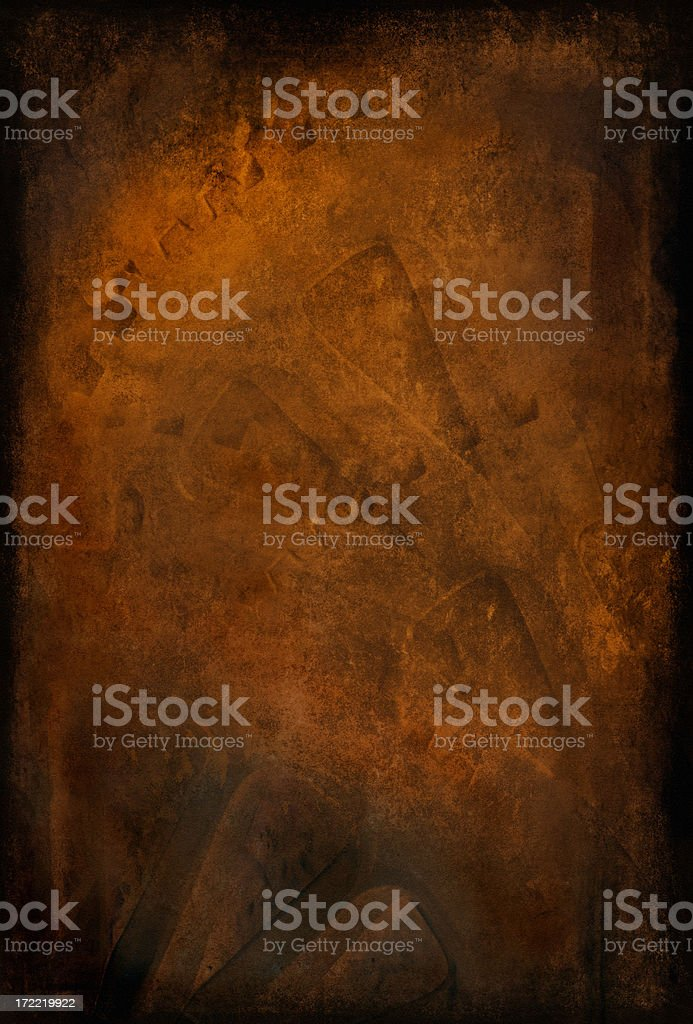 Grungy Old Rusty Gears Background stock photo