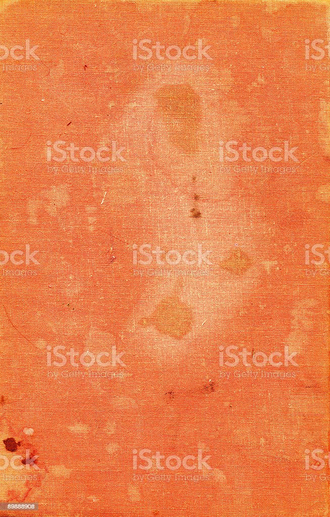 grungy orange canvas royalty-free stock photo