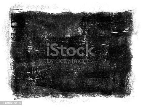 700561460 istock photo Grungy Painted Texture Border Background 1135638314