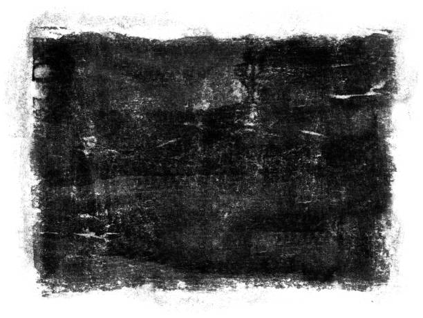 Grungy Painted Texture Border Background stock photo