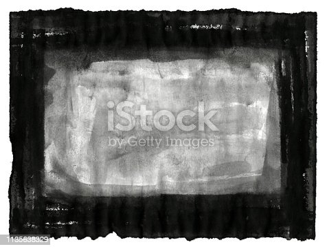 700561460 istock photo Grungy Painted Texture Border Background 1135638329