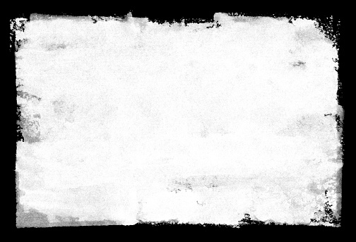 Grungy painted texture border background.