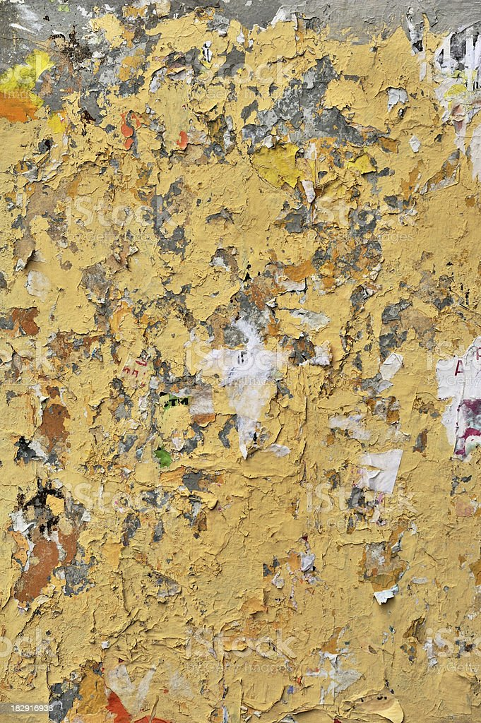 Grungy painted wall. royalty-free stock photo