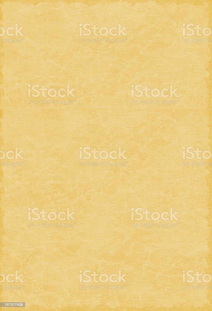 Grungy parchment background paper XXXL royalty-free stock photo