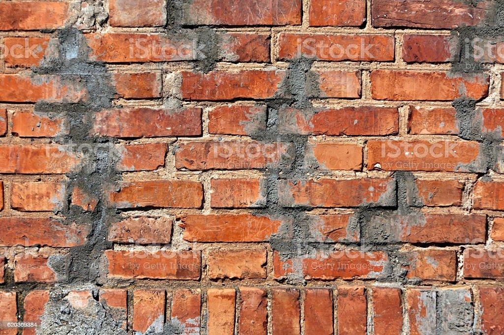 Grunge de textura de parede de tijolos vermelhos. foto de stock royalty-free