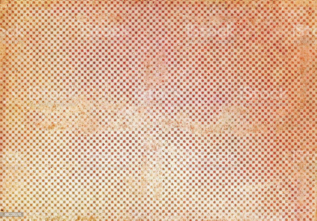 Grungy Red Starry Wallpaper XXL royalty-free stock photo
