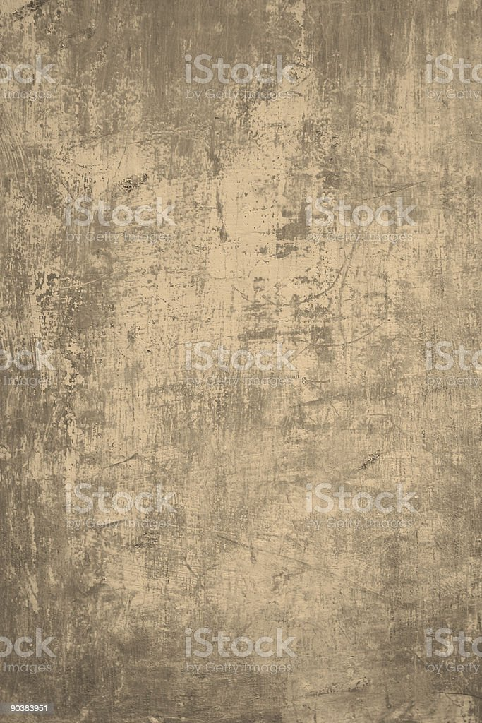 Grungy Roman wall royalty-free stock photo