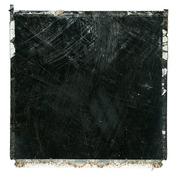 grunge film frame trashed - fotografie stock-fotos und bilder