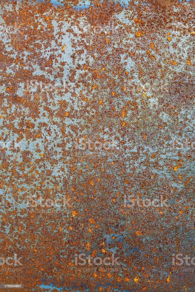 Grungy rusty steel plate. royalty-free stock photo