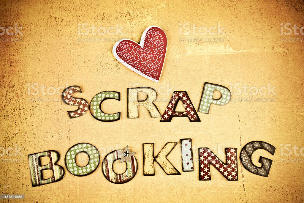 Grungy Scrapbooking Banner Stock Photo Download Image Now Istock