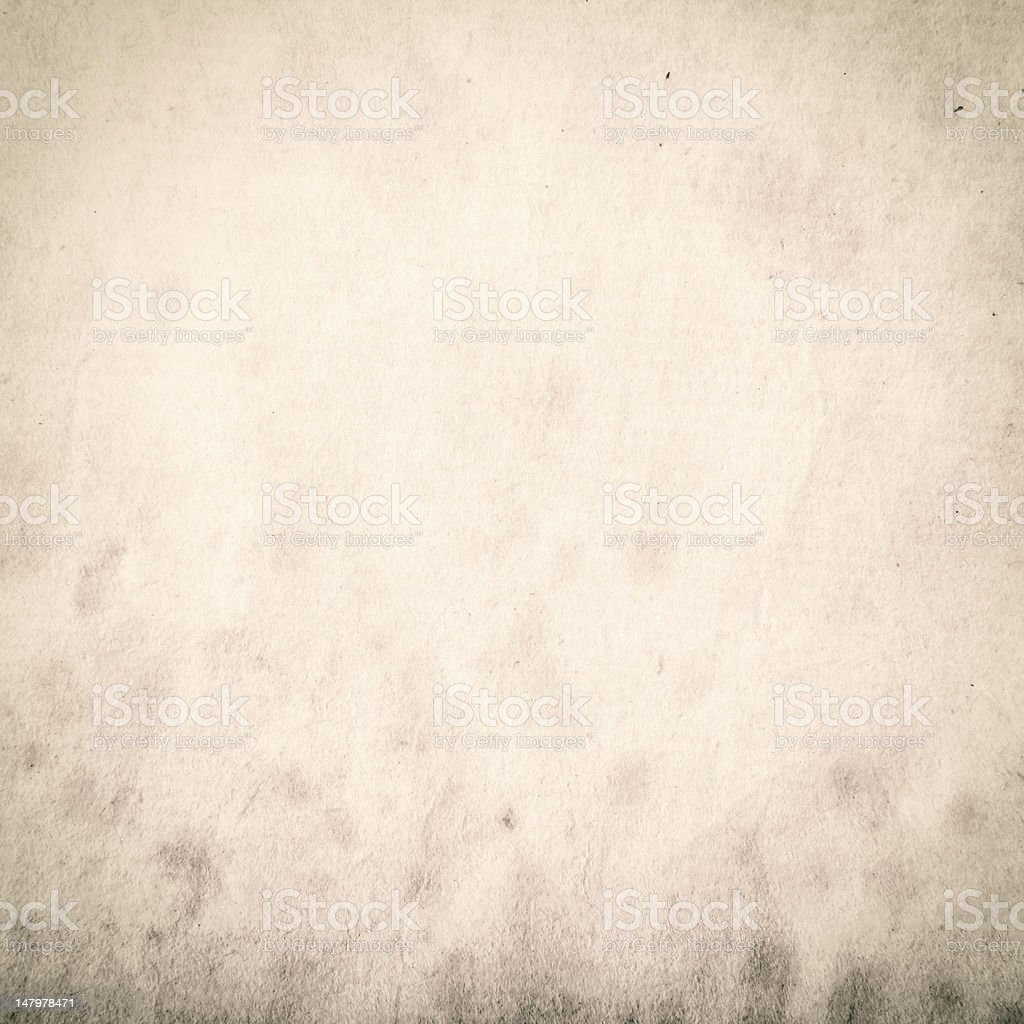Grungy stained old paper royalty-free stock photo