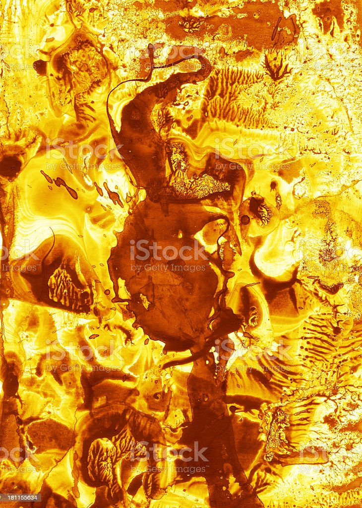 Grungy Stained Paper stock photo
