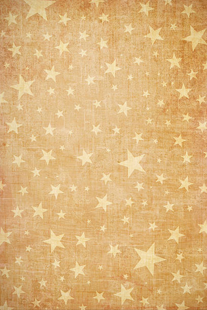 Grungy Starry Background stock photo