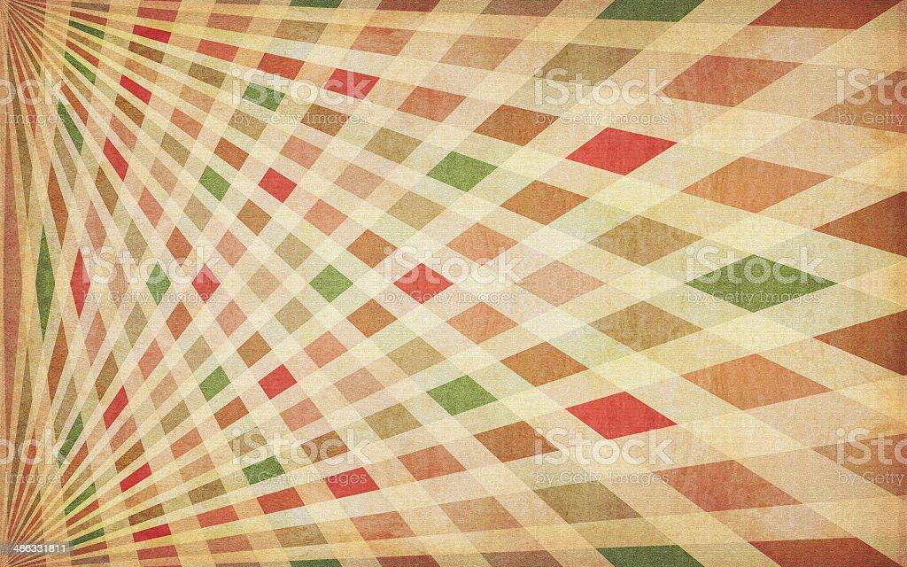 Grungy Sunburst Background royalty-free stock photo