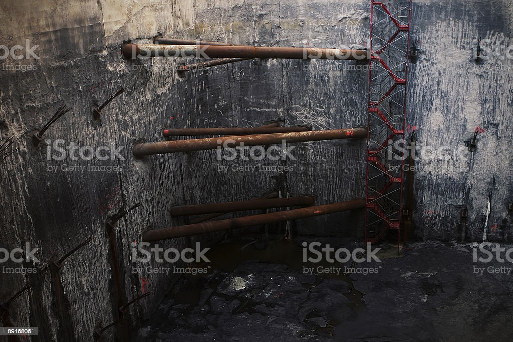 Grungy Underground royalty-free stock photo