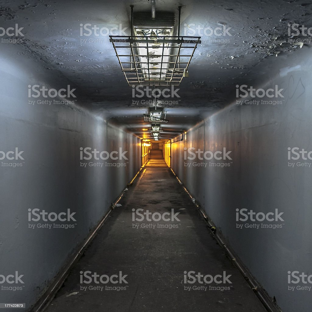 Grungy Underpass royalty-free stock photo