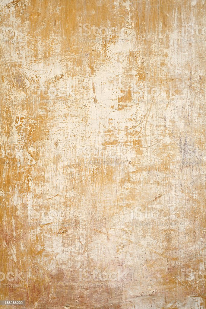 Grungy wall located in Rome, Italy  royalty-free stock photo