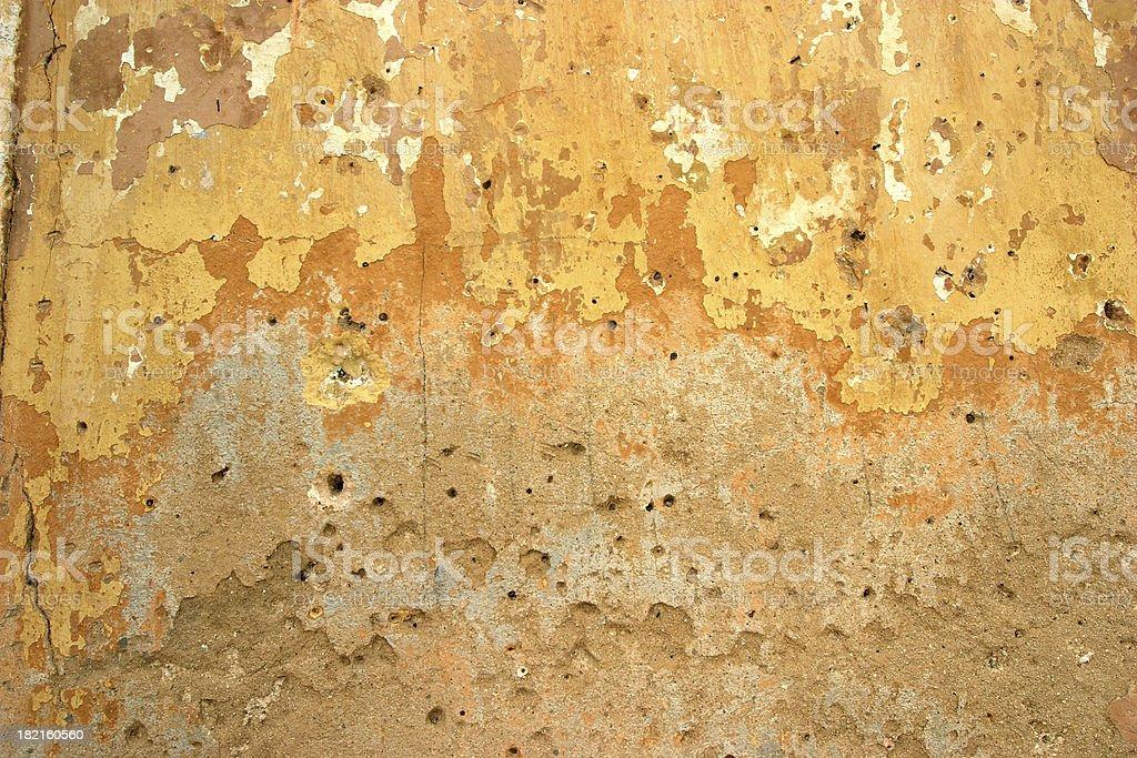 Grungy wall royalty-free stock photo