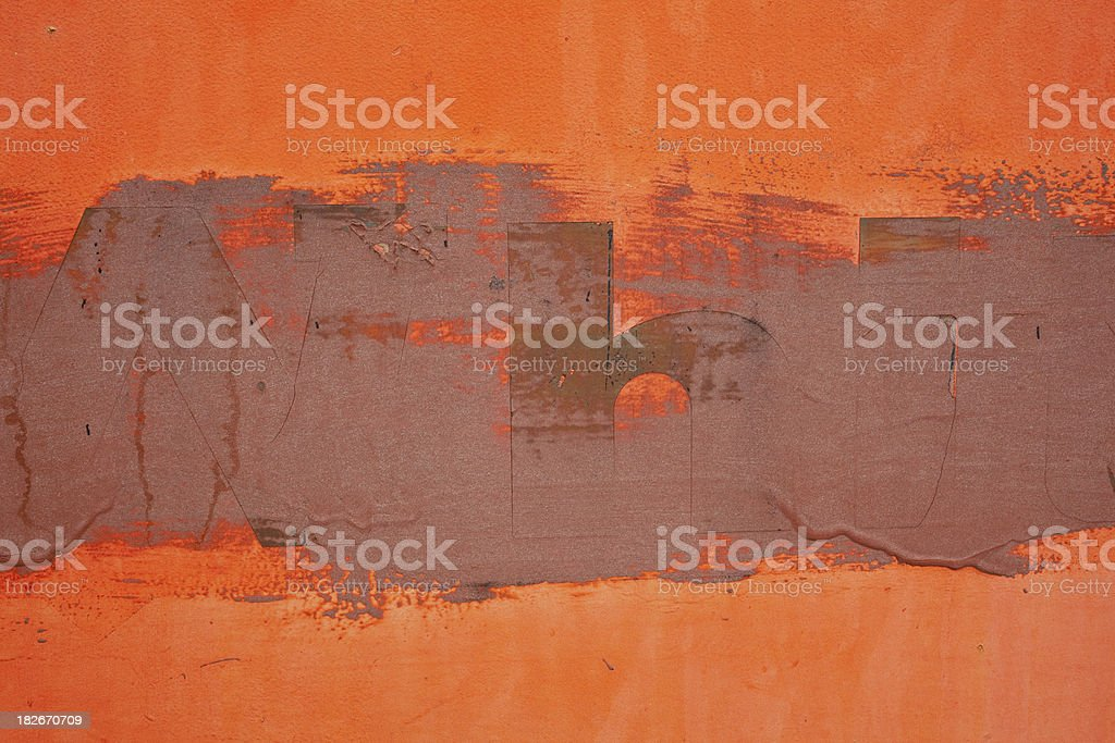 Grungy  wall. royalty-free stock photo