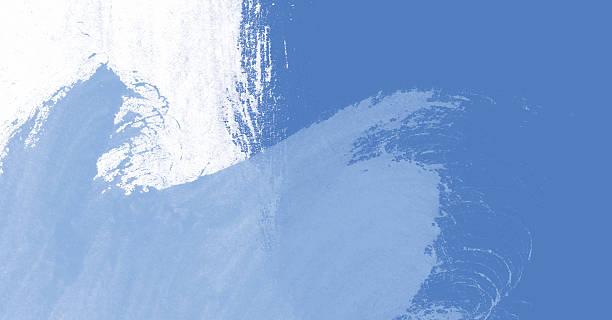 XXL Grungy wallpaper blue waves stock photo