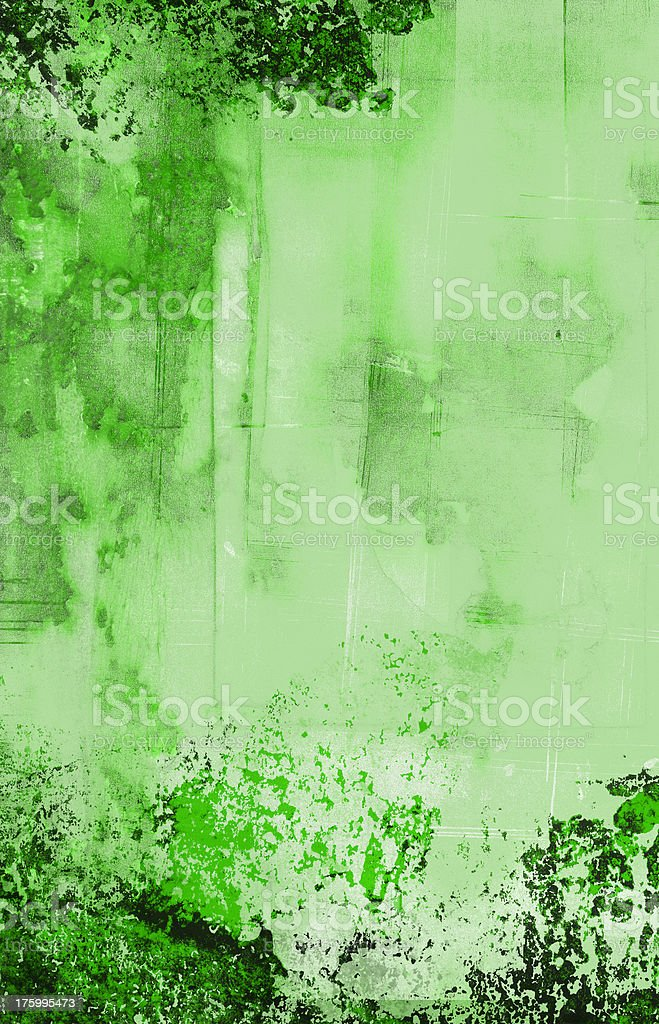 Grungy wallpaper green royalty-free stock photo