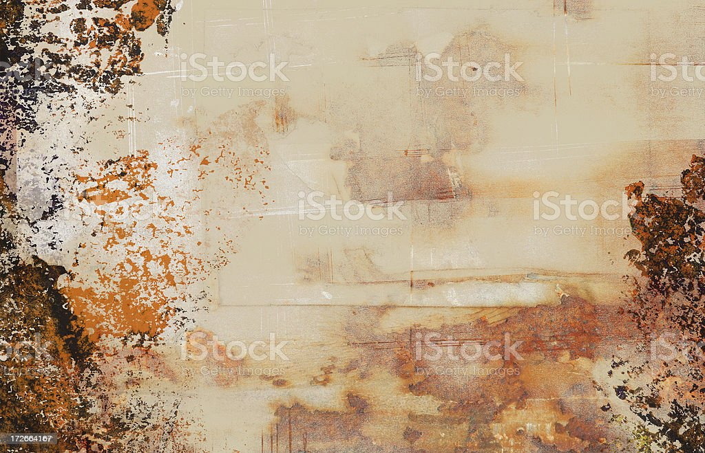 Grungy wallpaper royalty-free stock photo