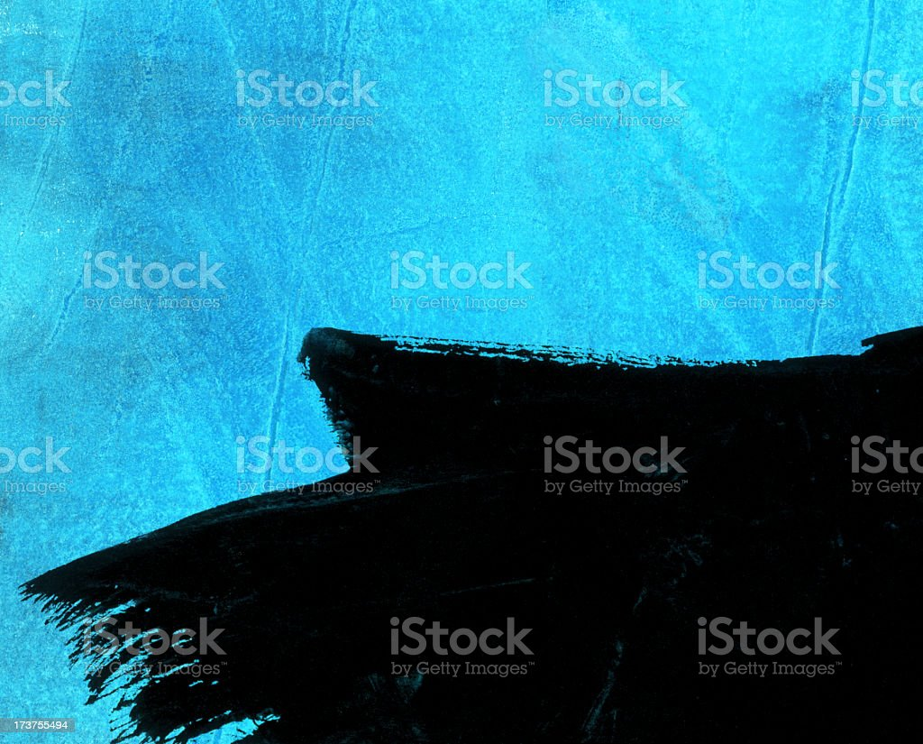 XXL - grungy wallpaper winter 5 royalty-free stock photo