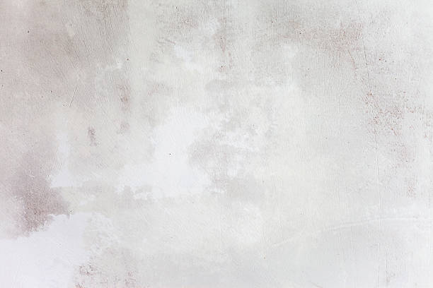 Grungy White Concrete Wall Background Grunge White Background Cement Old Texture Wall plaster stock pictures, royalty-free photos & images