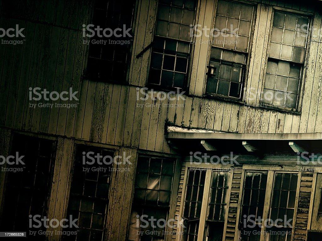 grungy windows royalty-free stock photo