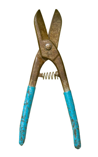 Grungy Wire Cutters stock photo