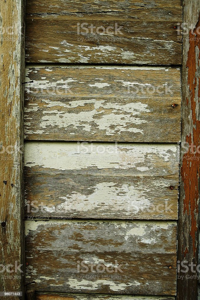Grungy Wooden Boards (Abstract) royalty-free stock photo