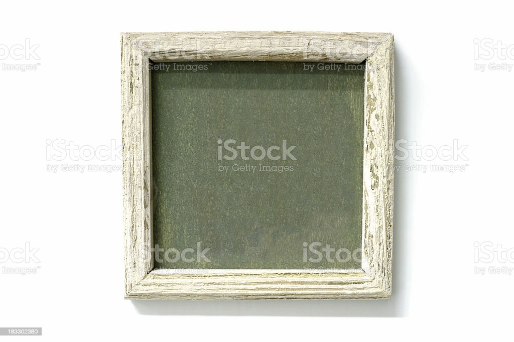 Grungy Wooden Frame royalty-free stock photo