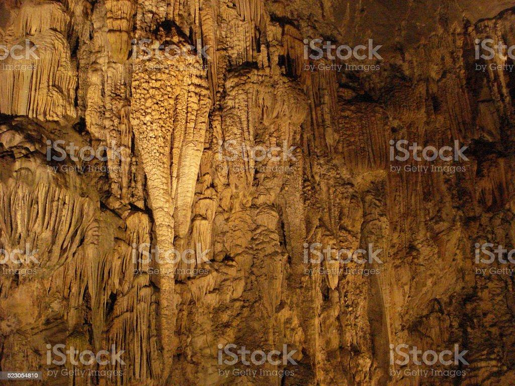 Grutas de Cacahuamilpa, Caverns from Mexico stock photo
