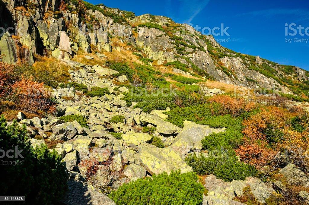 Góry jesienią royalty-free stock photo