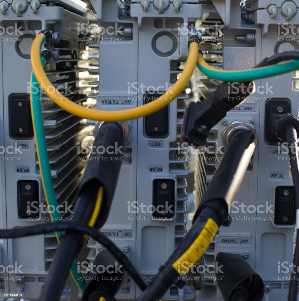 Gsm telecommunication device. stock photo