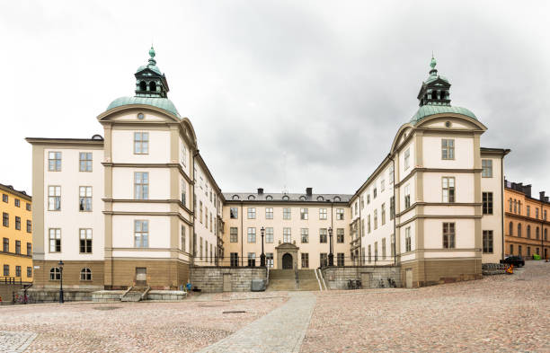 Högsta domstolens administrativa byggnad vestido mayor administración en Suecia - foto de stock