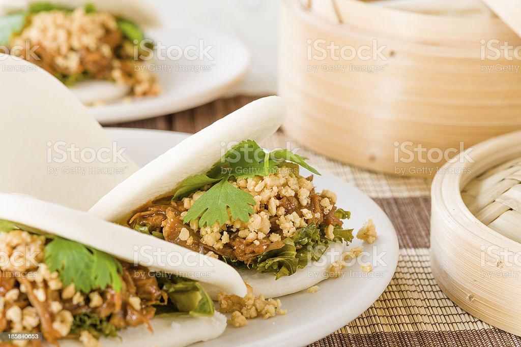 Gua Bao (刮包) stock photo