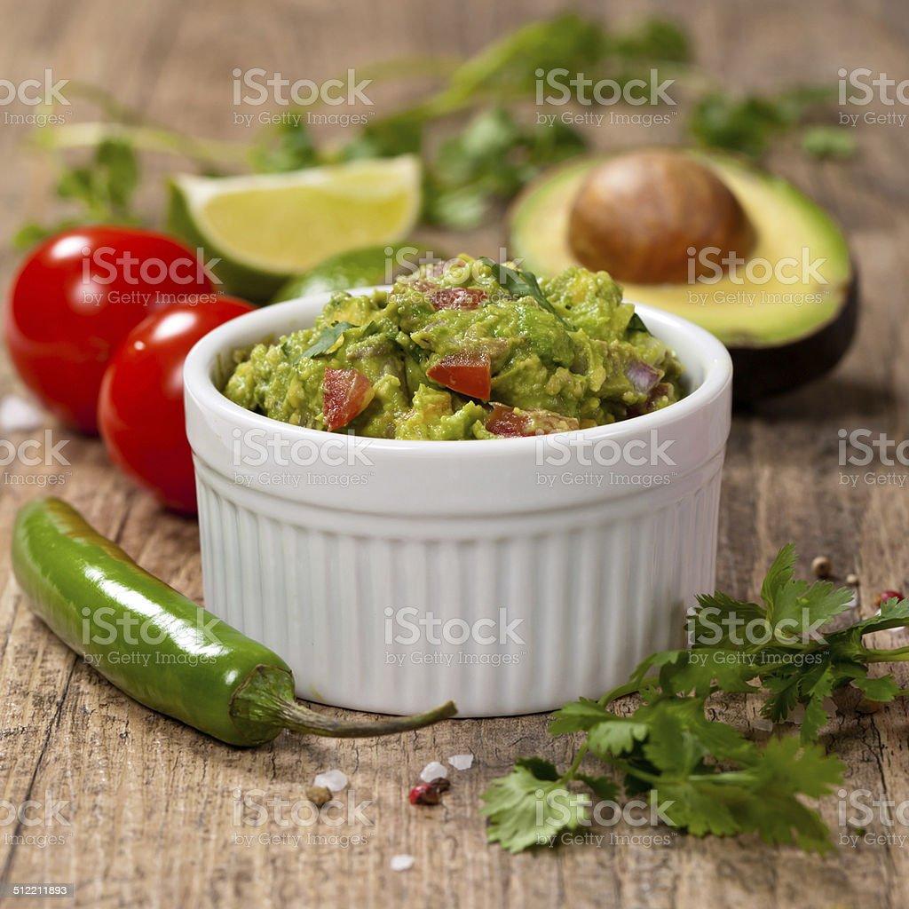 Guacamole stock photo