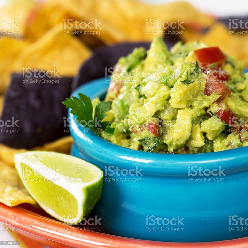 Guacomole stock photo