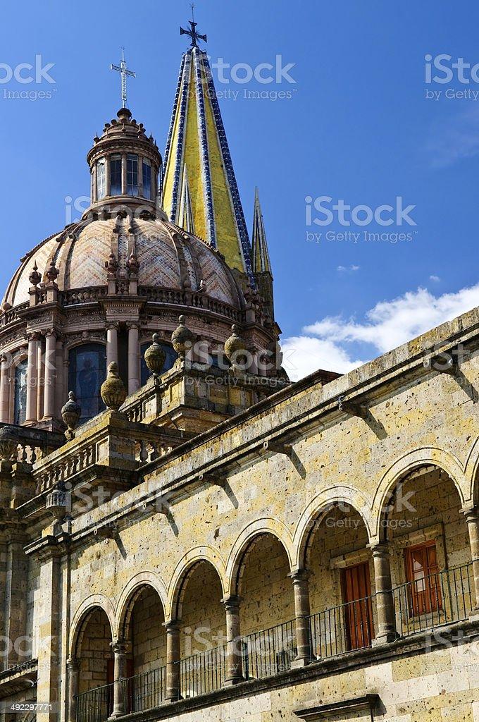Kathedrale Von Guadalajara In Jalisco Mexiko Stockfoto Und Mehr