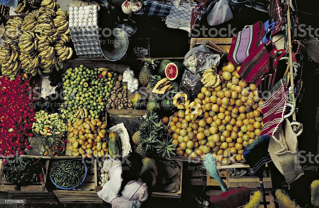 Guadalajara market. stock photo