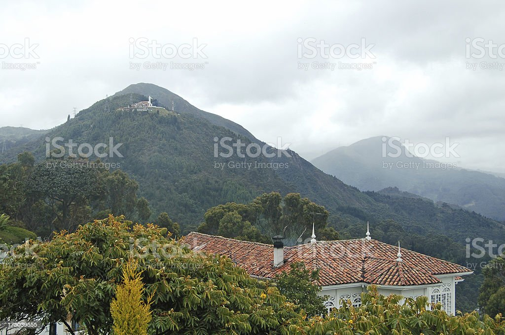Guadalupe and Monserrate royalty-free stock photo